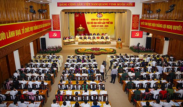 Đại hội Đảng bộ khóa XIX