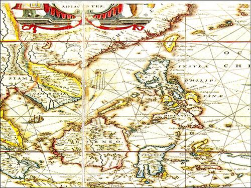 Bản đồ hàng hải Châu Âu