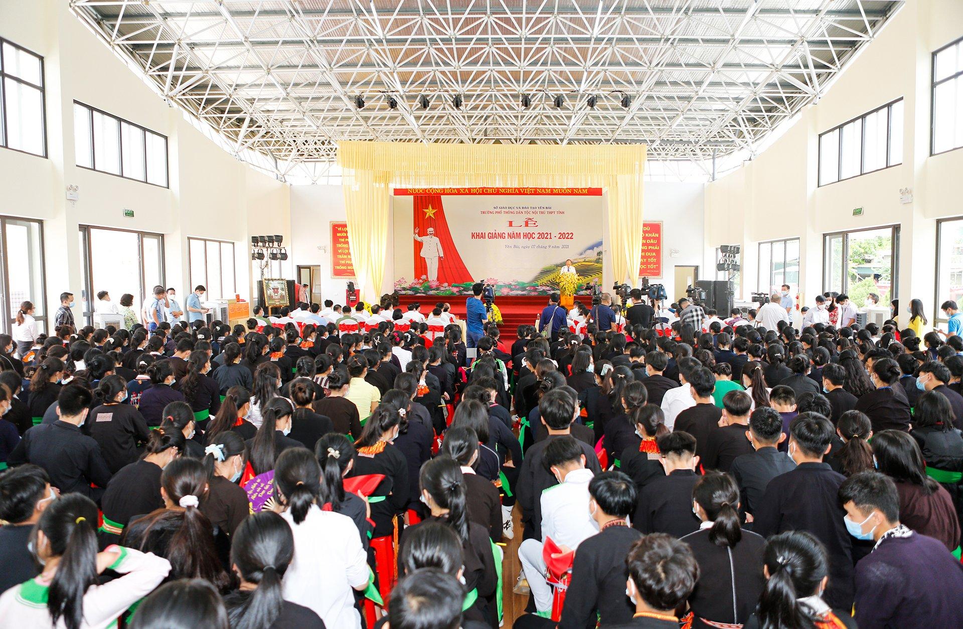 Một số hình ảnh Chủ tịch nước Nguyễn Xuân Phúc thăm và làm việc tại tỉnh Yên Bái