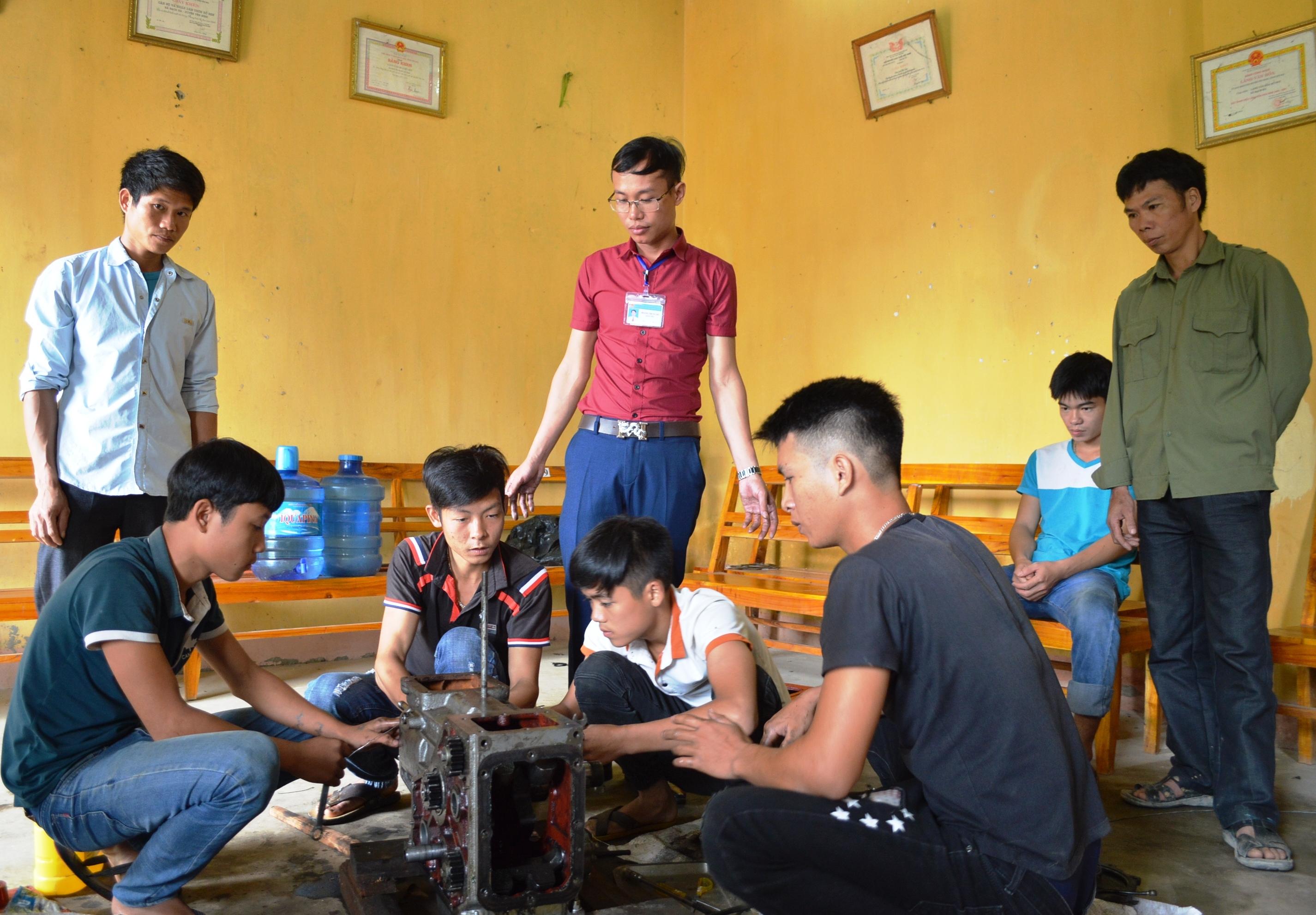 Công tác đào tạo nghề cho lao động nông thôn được chú trọng