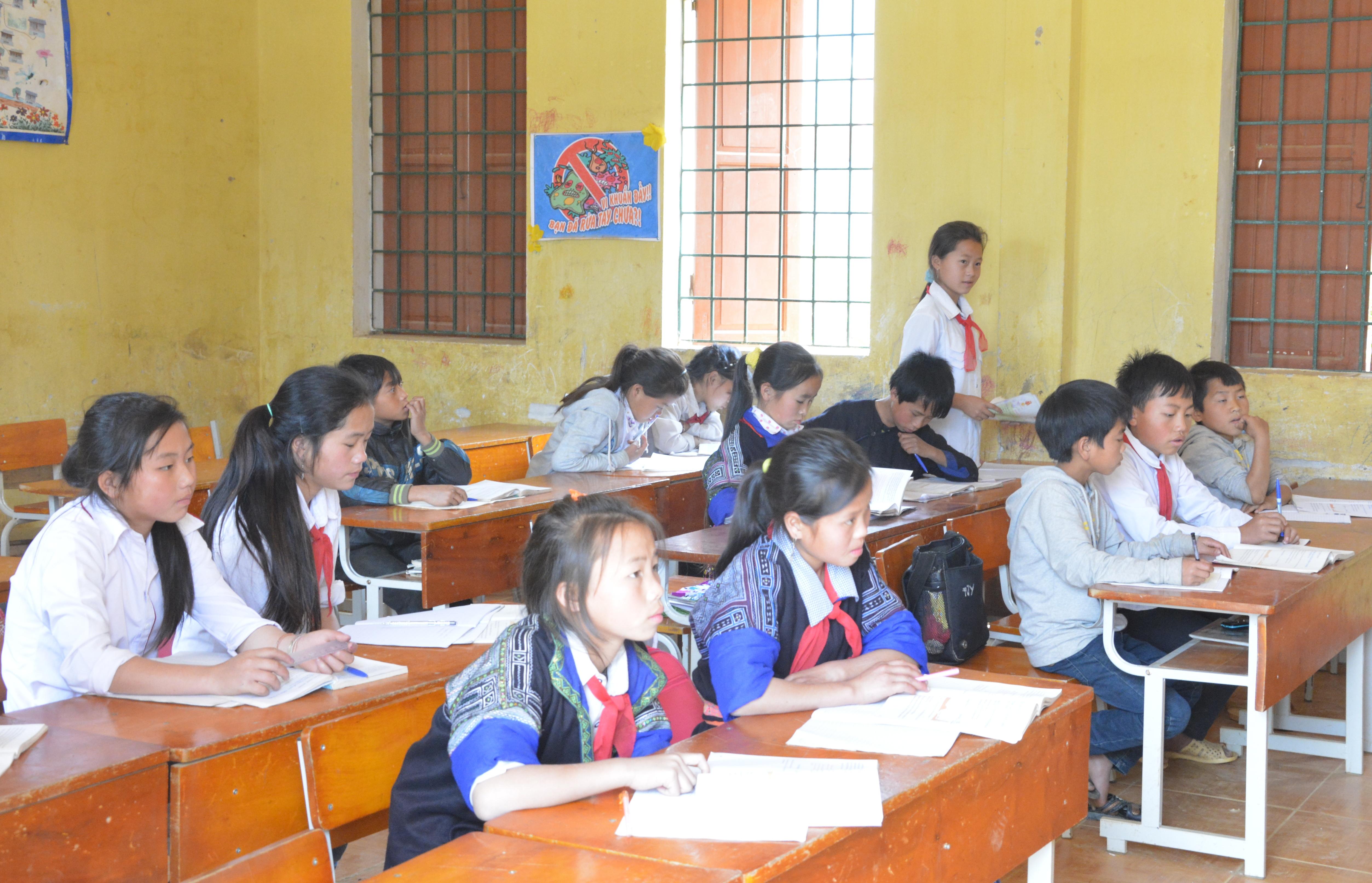 Công tác giáo dục được quan tâm nhằm nâng cao chất lượng giáo dục toàn diện