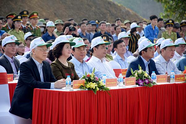 Mọt số hình ảnh của Tổng Bí thư, Chủ tịch nước Nguyễn Phú Trọng tại tỉnh Yên Bái