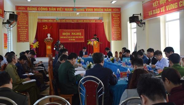 Thẩm định xã Yên Bình đạt chuẩn nông thôn mới