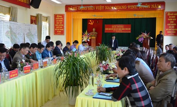 Thẩm định xã Tân Hương (huyện Yên Bình) đạt chuẩn nông thôn mới