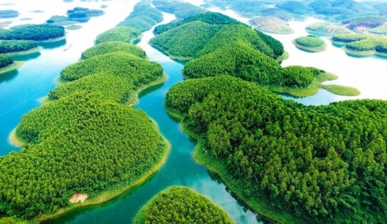 Huyện Yên Bình, tỉnh Yên Bái với khu du lịch nổi tiếng Hồ Thác Bà