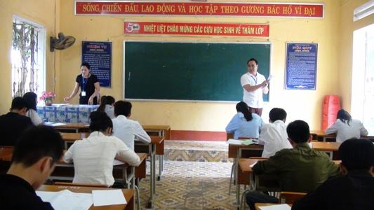 Lục Yên: trên 1.000 thí sinh tham dự kỳ thi tuyển sinh vào lớp 10